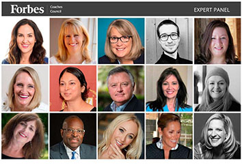 Forbes Coaches Council Expert Panel - Headshot Picture Collage