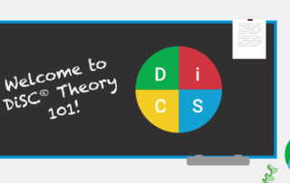 Welcome to DiSC Theory 101! graphic