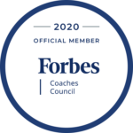 2020 OFFICIAL MEMBER Forbes Coaches Council Logo