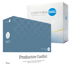 Everything DiSC Productive Conflict Facilitation Kit Graphic
